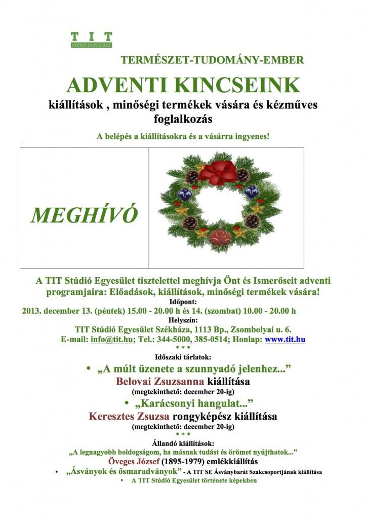 Adventi Kincseink 2013-11